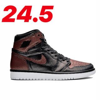 NIKE - NIKE AIR JORDAN 1 FEARLESS METALLIC ROSE