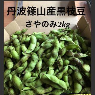 丹波篠山産 黒枝豆 さやのみ2kg (野菜)