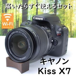 Canon - 一度手にしたら手放せない!キャノン Kiss X7♪