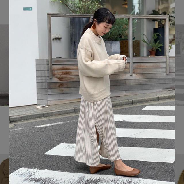 TODAYFUL(トゥデイフル)のTODAYFUL☆ストライプシャツドレス レディースのワンピース(ロングワンピース/マキシワンピース)の商品写真