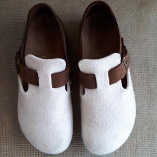 ビルケンシュトック(BIRKENSTOCK)のビルケンシュトッ  BIRKENSTOCK レディース  パリ?(ローファー/革靴)