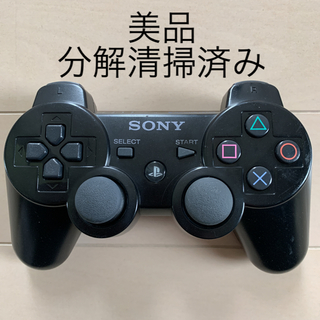 PlayStation3 - 美品 SONY PS3 純正 コントローラー DUALSHOCK3 黒