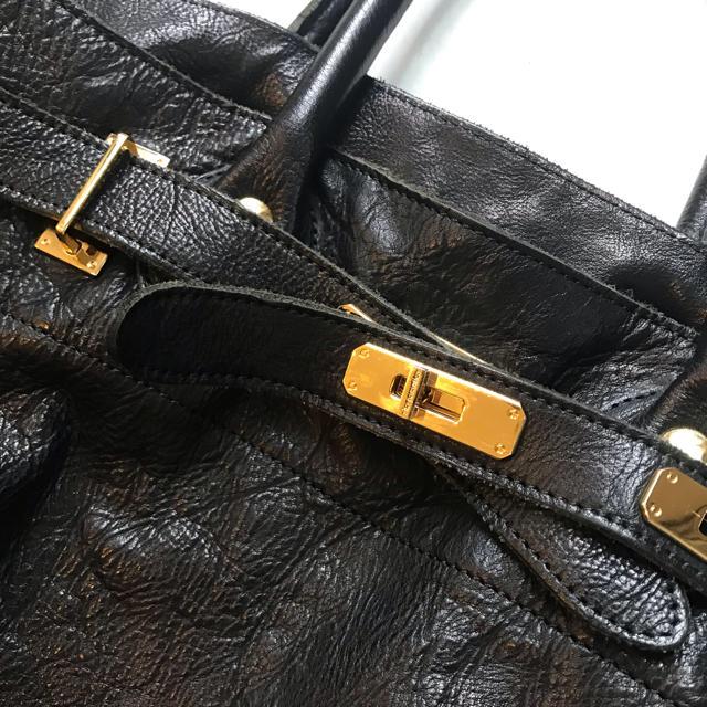 DEUXIEME CLASSE(ドゥーズィエムクラス)の完売 sita parantica シータパランティカ レザートートLサイズ黒  レディースのバッグ(トートバッグ)の商品写真