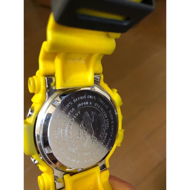 G-SHOCK(ジーショック)のフロッグマン GF-8250  イエロー  メンズの時計(腕時計(デジタル))の商品写真