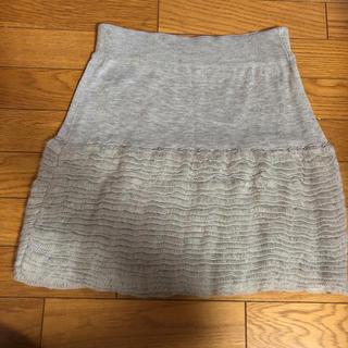 エルディープライム(LD prime)のLD プライム ニットスカート Mサイズ(ミニスカート)
