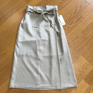 GU - GU ウエストリボンスカート