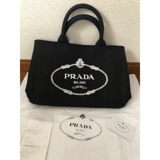 PRADA - PRADA カパナトートバッグ ブラック 送料込み