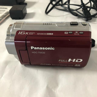 Panasonic - 【送料無料】Panasonic HDC-TM30 中古品