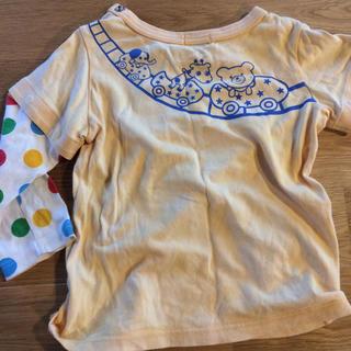 ミキハウス(mikihouse)のミキハウス ロンT Tシャツ 80 男の子 半袖 長袖(シャツ/カットソー)