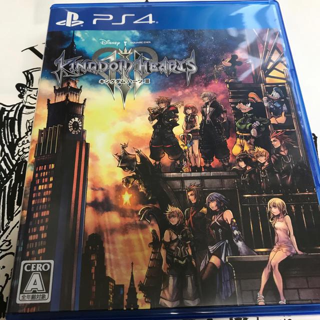 PlayStation4(プレイステーション4)のキングダム ハーツIII エンタメ/ホビーのゲームソフト/ゲーム機本体(家庭用ゲームソフト)の商品写真