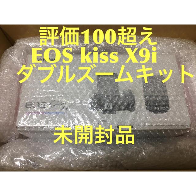 Canon(キヤノン)のcanon EOS Kiss X9i ダブルズームキット スマホ/家電/カメラのカメラ(デジタル一眼)の商品写真