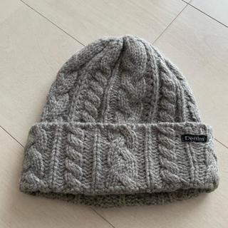 デニムダンガリー(DENIM DUNGAREE)の美品★デニム&ダンガリー ニット帽 L(帽子)