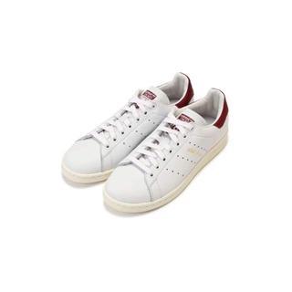 アディダス(adidas)の新品 未使用 アディダスオリジナルス スタンスミス 金 ネーム 23 えんじ(スニーカー)