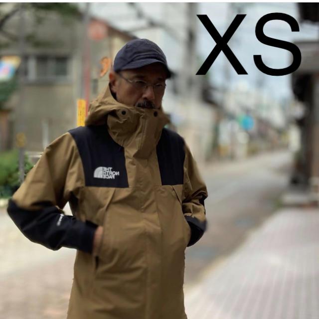 THE NORTH FACE(ザノースフェイス)のXS マウンテンジャケット ブリティッシュカーキ メンズのジャケット/アウター(マウンテンパーカー)の商品写真