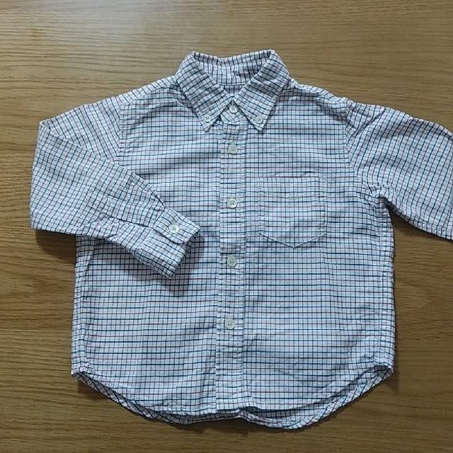 SHIPS(シップス)のSHIPS ボタンダウンシャツ 100cm キッズ/ベビー/マタニティのキッズ服男の子用(90cm~)(ブラウス)の商品写真