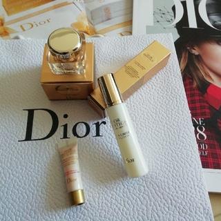 クリスチャンディオール(Christian Dior)のプレステージ ホワイトシリーズ サンプルセット(フェイスクリーム)