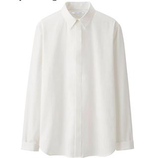 UNIQLO - ユニクロ ルメール レギュラーカラーシャツ 比翼仕立て
