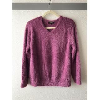 シマムラ(しまむら)のトップス セーター ニット Vネック レディース  冬服(ニット/セーター)
