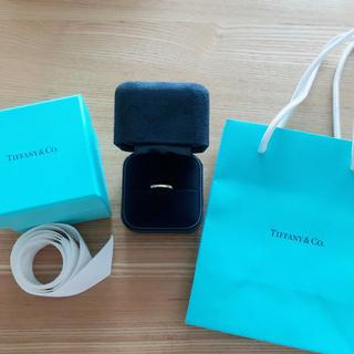 Tiffany & Co. - ティファニーゴールドリング
