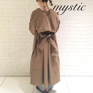 mystic - 最新作❁ミスティック ヨークギャザートレンチ