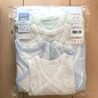 アカチャンホンポ - 【新品未使用】赤ちゃん本舗 新生児肌着 長袖6点セット