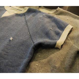 フルカウント(FULLCOUNT)のフルカウント 半袖 スゥェット ダメージ加工(Tシャツ/カットソー(半袖/袖なし))