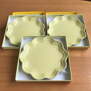 ルクルーゼ(LE CREUSET)のルクルーゼ フリルプレート18cmレモネード(食器)