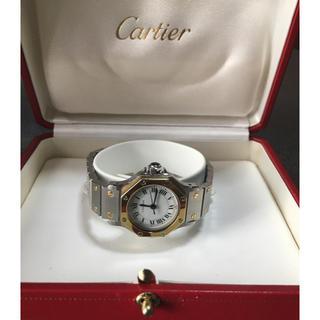 Cartier - カルティエ サントス オクタゴン 自動巻 美品 時計 腕時計 レディース タンク