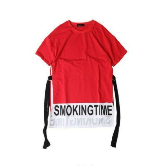 メンズ サイドスリットロゴビックT aaaa2 メンズのトップス(Tシャツ/カットソー(半袖/袖なし))の商品写真