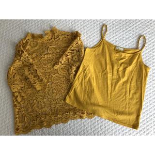 アースミュージックアンドエコロジー(earth music & ecology)のTシャツ キャミソール(Tシャツ(半袖/袖なし))