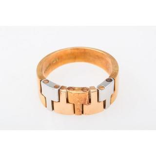 Pt900/K18 コンビ ファッションリング 品番6-475(リング(指輪))