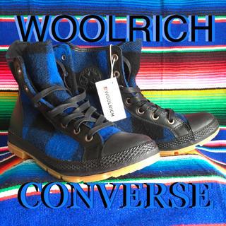 コンバース(CONVERSE)のconverseコンバース『WOOLRICH』コラボUS限定ブーツ29cm(ブーツ)