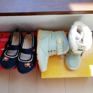 ムーンスター(MOONSTAR )の新品ブーツと黒の靴セットで ムーンスター 3can4on(ブーツ)