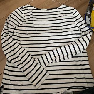 ジーユー(GU)のジーユー ボーダーロンT(Tシャツ(長袖/七分))