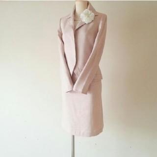 ニジュウサンク(23区)の23区 APPLAUDIR ツイード スーツ ピンク (スーツ)