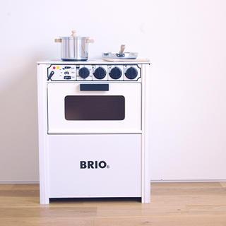 BRIO - BRIO ブリオ おままごと キッチン おもちゃ 木製 コンロ レンジ