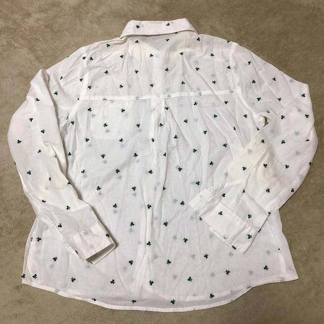 リボン柄ブラウス レディースのトップス(シャツ/ブラウス(長袖/七分))の商品写真