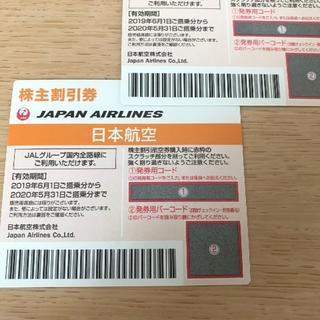 JAL 株主優待券