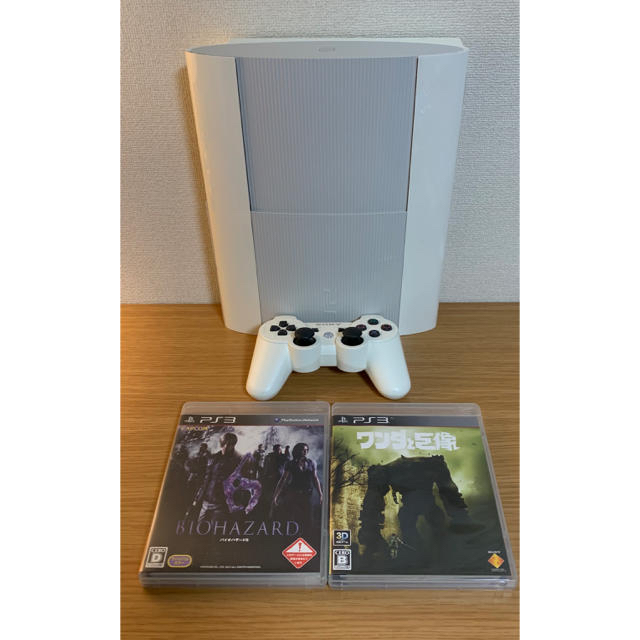 PlayStation3(プレイステーション3)のプレステ3(本体+コントローラー+ソフト)※箱なし エンタメ/ホビーのゲームソフト/ゲーム機本体(家庭用ゲーム機本体)の商品写真