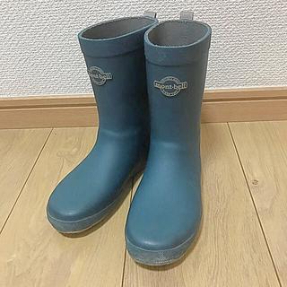 モンベル(mont bell)の最終SALE! mont bell モンベル 長靴 レインブーツ 美品(長靴/レインシューズ)