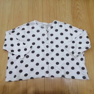 プティマイン(petit main)のドットロンティー 韓国子供服(Tシャツ/カットソー)
