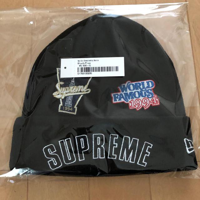 Supreme(シュプリーム)のシュプリーム  ニューエラ ビーニー キャップ supreme メンズの帽子(キャップ)の商品写真