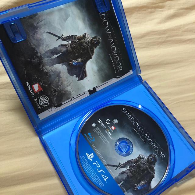 シャドウ・オブ・モルドール PS4版[ゴッド兄さん様専用] エンタメ/ホビーのゲームソフト/ゲーム機本体(家庭用ゲームソフト)の商品写真