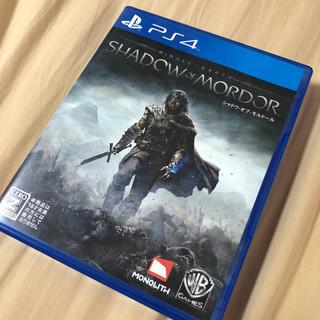 シャドウ・オブ・モルドール PS4版