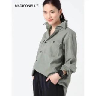 マディソンブルー(MADISONBLUE)のMADISON BLUE(マディソンブルー)   ハンプトンバックサテンシャツ(シャツ/ブラウス(長袖/七分))