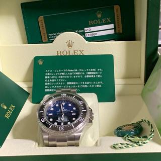 ロレックス(ROLEX)のロレックスシードゥエラー  ディープシーDブルーダイヤル(腕時計(アナログ))
