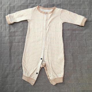 ムジルシリョウヒン(MUJI (無印良品))の2wayオール 新生児 70サイズ 無印良品 ベビー オーガニックコットン (カバーオール)
