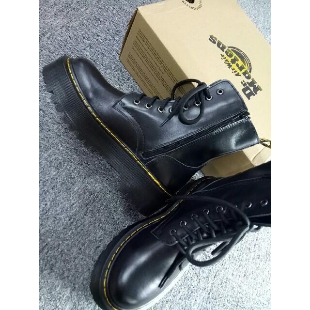 Dr.Martens(ドクターマーチン)のUK4 Dr. Martens 8ホール ドクターマーチン ブーツ黒正規品 厚底 レディースの靴/シューズ(ブーツ)の商品写真