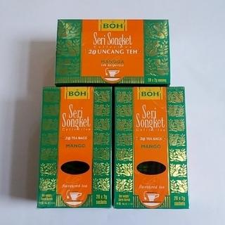 ボー(BOH)のBOH TEA  ティーパック 20袋✖3個 マンゴー(茶)