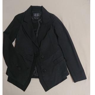 ムルーア(MURUA)のMURUA 2way 光沢ベスト付きジャケット ブラック M  (テーラードジャケット)